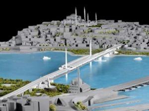 İbrahim: Haliç Köprüsü projesi yapılmalı