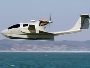 Uçan gemi WIG'in seyir denemeleri yapıldı