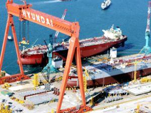 Güney Kore gemi inşa sektörü düşüşte