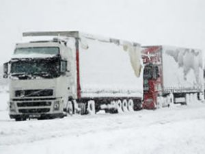 Kar Edirne'de sınır kapısını kapattı