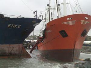 Karaya vuran gemilerin son durumu
