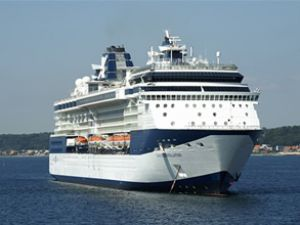 Celebrity Constellation, Marmaris'e geldi