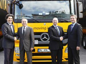 Mercedes'ten Kıta Logistics'e dev teslimat