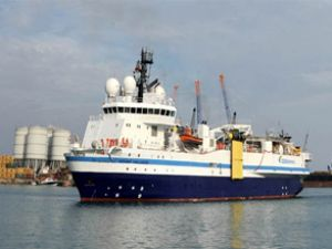 Akdeniz'de bir petrol arama gemisi daha