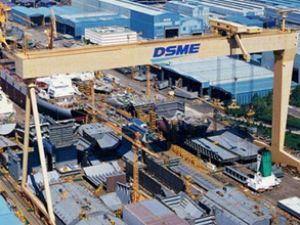 DSME son siparişlerle satış hedefini geçti