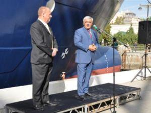 Azerbaycan üretimi ilk gemi 2013'te hazır