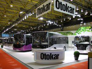 Otokar Busworld'de 5 farklı ürün sergiledi