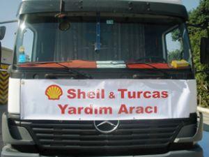 Shell & Turcas'tan Van'a motorin yardımı