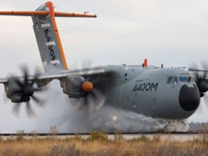 A400M, sulu pist testini başarıyla geçti