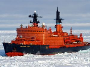 Rusya buz kırıcı gemiler için imzayı attı
