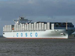 Taşımacılık devi Cosco'dan zarar sinyali