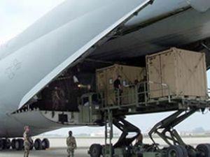 ABD'den Van'a 8 uçak yardım malzemesi