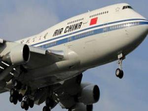 Tarla yakıtı ve gazyağ ile Boeing uçurdular