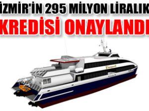 İzmir'e alınacak yeni filonun kredisi hazır