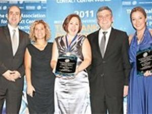 Turkcell Global Bilgi'ye iki ödül birden