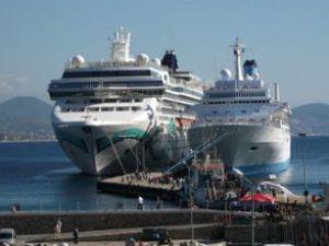 Kruvaziyer turizmi sezonu devam ediyor