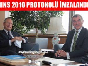 Türkiye, HNS 2010 Protokolü'nü imzaladı