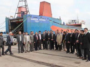 İranlı işadamları Samsun Limanı'nı inceledi
