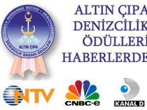 Altın Çıpa Denizcilik Ödülleri haberlerde