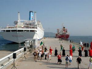 Gelen turist gemisi sayısında azalma var