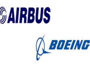 Airbus ve Boeing fuarı berabere kapadı