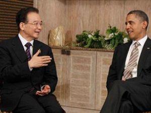Obama ve Jiabao, deniz ticaretini konuştu