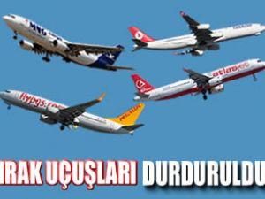 Irak, Türk uçaklarının inişine izin vermiyor