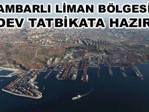 Ambarlı Limanı'nda Deniz Kirliliği tatbikatı