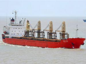 Hong Kong açıklarında gemi battı