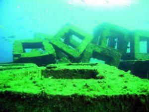 Rize'de yapay resif alanı oluşturuluyor