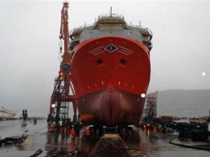 "LNG ile çalışan ""Viking Prince"" suya indi"