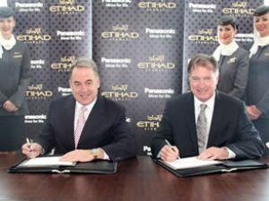 Etihad ve Panasonic'ten dev anlaşma
