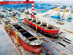STX'e 16 bin TEU'luk 6 adet gemi siparişi