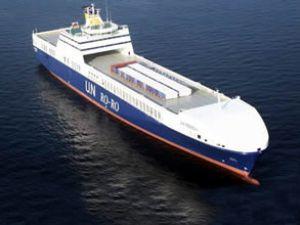 U.N Ro-Ro'da Pendik-Köstence hattı durdu