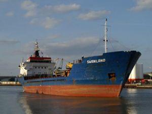 Swanland gemisi İrlanda Denizi'nde battı