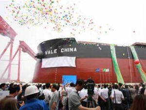 380 bin DWT'luk Vale China teslim edildi
