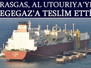 RasGas, EgeGaz'a LNG teslimatı yaptı