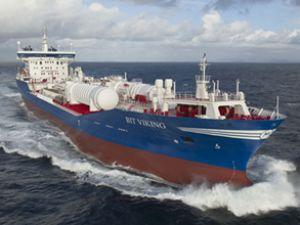 LNG ile çalışan 'Bit Viking' servise alındı