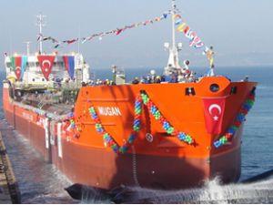 Beşiktaş, Mugan adlı gemiyi suya indirdi