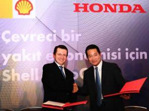 Shell ve Honda'dan dev otogaz işbirliği
