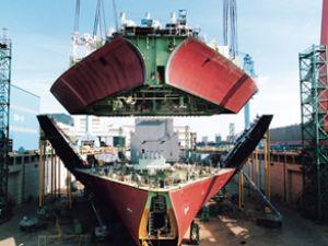 Güney Kore'nin gemi ihracat oranı arttı