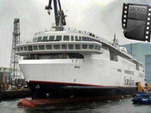 Scandlines yeni feribotunu hizmete aldı