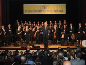 PTT'de kuruluş yıldönümü konseri