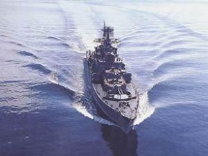 Rus savaş gemisi Ege Denizi'ne açıldı