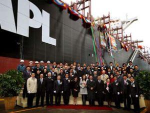 APL, yeni konteyner gemisini isimlendirdi