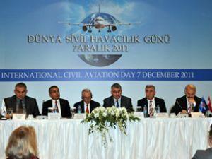 """""""Dünya Sivil Havacılık Günü"""" gerçekleşti"""