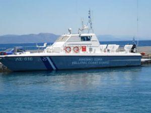 Yunan botu, Türk kara sularını ihlal etti