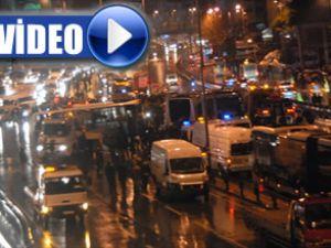 Metrobüs kazası mobese kamerasında