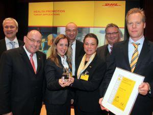 DHL Express Türkiye'ye sağlık ödülü