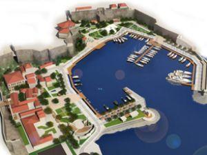 Kaleiçi Yat Limanı'nda çalışmalar başlıyor